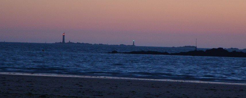 phare du Grand Jardin la nuit